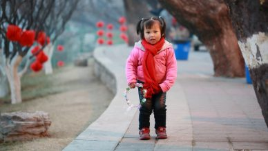 China reisen Beijing girl