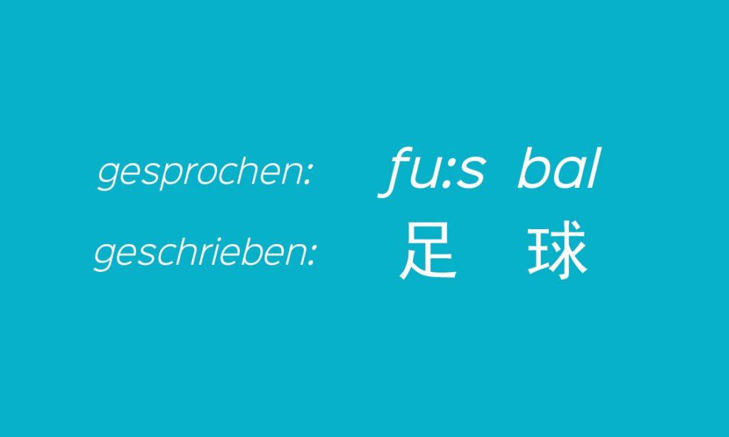 Fußball Deutsch Chinesisch